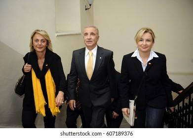 14 May 2011. Istanbul, Turkey. Unal Aysal 34th President of Galatasaray SK.