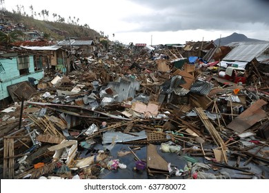 14 November 2013. Tacloban, Philippines. Typhoon Haiyan, known as Super Typhoon Yolanda in the Philippines, was one of the most intense tropical cyclones on record.