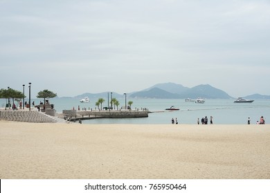 14 October 2017 at Repulse Bay Beach, located in the southern part of Hong Kong Island, is the most spectacular bay in the region.