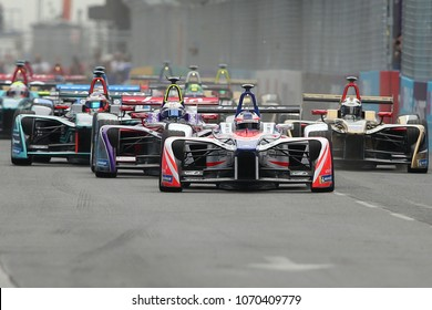 14.04.2018. EUR, Rome, Italy: ABB Formula-E Championship FIA Rome E PRIX 2018. 