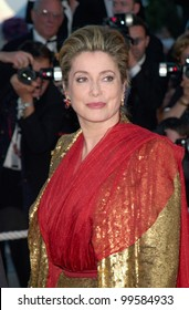 14MAY2000: Actress CATHERINE DENEUVE at the tribute to director Luis Bunuel at the Cannes Film Festival.  Paul Smith / Featureflash