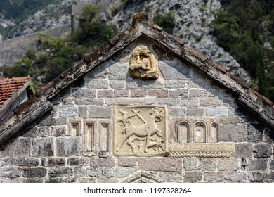 The 14th century church of St. Michael in Kotor, Montenegro