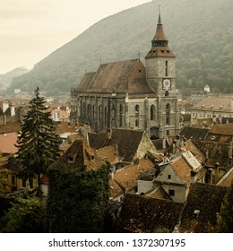 The 14th-century Lutheran Black Church in Brasov, Romania (south-eastern Transylvania, Romania) was originally a Roman Catholic church named The Church of Saint Mary.