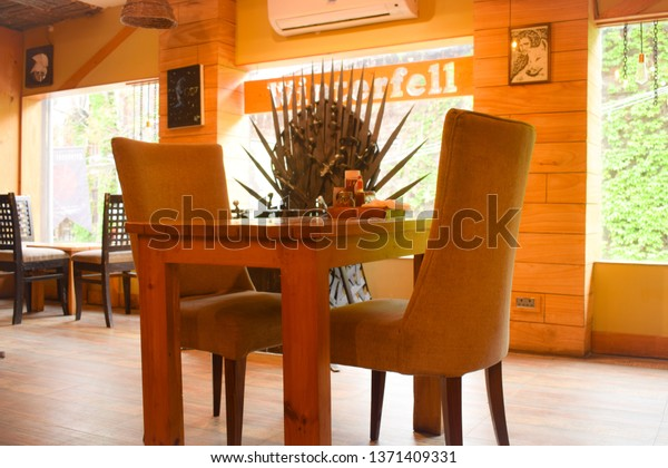 15 April 2018 Empty Chairs Couple Stock Photo (Edit Now