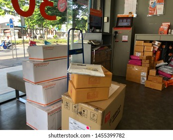 Post Delivery in Bangkok Images, Stock Photos & Vectors