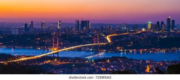 15 july martyrs - Bosphorus bridge, istanbul/ Turkey, December 2015