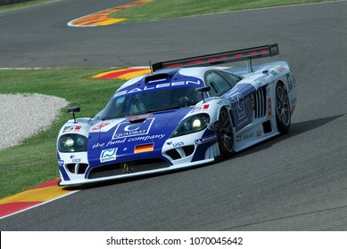 15 September 2006: #9 Saleen S7-R GT1 of Zakspeed Racing (D) team driven by Bert / Montermini / Jani during FIA GT Championship round of Mugello Circuit in Italy.