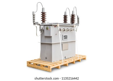 150 kVA dual voltage system (12000/24000 V) three phase CSP (completely self protected) type oil immersed transformers