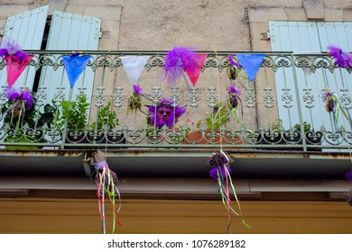 15.08.2017 Sault, Vaucluse, France. Feast of lavender.
