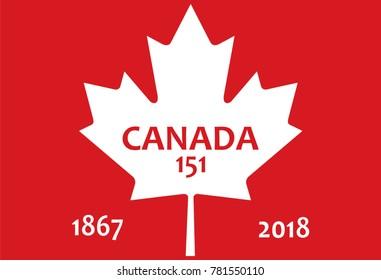 151th anniversary of Canada