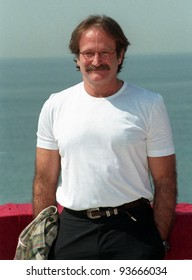 15MAY97:  ROBIN WILLIAMS at the 1997 Cannes Film Festival.