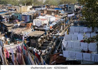 15th of May 2016, Mahalaxmi Dhobi Ghat Laundry, Mumbai, India