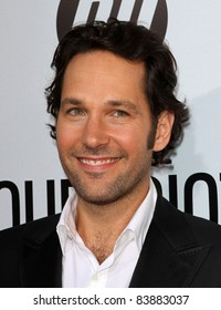 """16 August 2011 - Hollywood, California - Paul Rudd. """"Our Idiot Brother"""" - Los Angeles Premiere Held at The Cinerama Dome. Photo Credit: Kevan Brooks/AdMedia"""