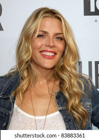 """16 August 2011 - Hollywood, California - Busy Philipps. """"Our Idiot Brother"""" - Los Angeles Premiere Held at The Cinerama Dome. Photo Credit: Kevan Brooks/AdMedia"""
