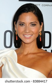 """16 August 2011 - Hollywood, California - Olivia Munn. """"Our Idiot Brother"""" Los Angeles Premiere held at Arclight Cinemas. Photo Credit: Byron Purvis/AdMedia"""