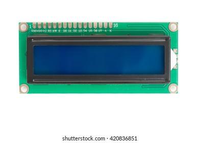 1602 16x2 Character Blue LCD Display Module