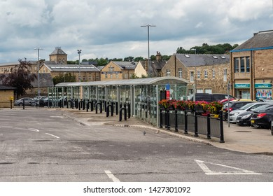 16/06/2019 Skipton, North Yorkshire, UK, Skipton bus station A Dales High Way between Skipton and Addingham Yorkshire Dales. skipton bus station