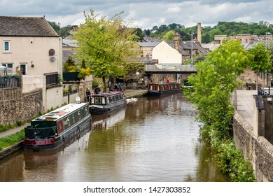 16/06/2019 Skipton, North Yorkshire, UK, skipton canal A Dales High Way between Skipton and Addingham Yorkshire Dales.