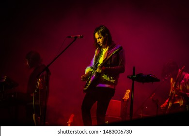 16-18 augustus 2019. Lowlands Festival, The Netherlands. Concert of Tame Impala