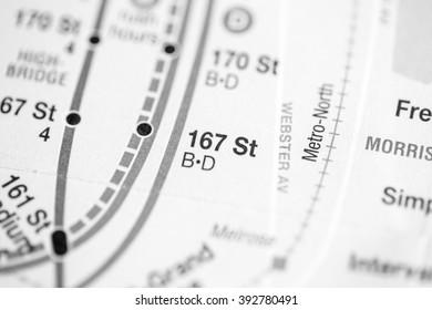 167 St. 6 Av/Central Park West/Queens Blvd/Myrtle Blvd Line. NYC