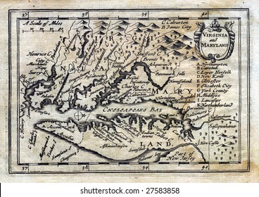 1675 Antique John Speed Map of