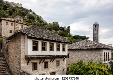 16th century houses in the medieval village of Pocitelj in Bosnia and Herzegovina
