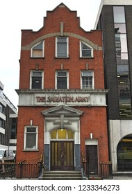 16th November 2018 Dublin. Salvation Army building in Lower Abbey Street.