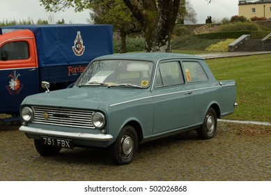 16th October 2016 a Vauxhall Viva at a vintage show organised by the Towy Valley Vintage Club at the Botanic Garden of Wales in Carmarthenshire, Wales UK.