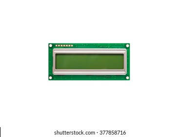 16x2 LCD  Display Isolated