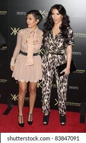 17 August 2011 - Hollywood, California - Khloe Kardashian, Kourtney Kardashian. Kardashian Kollection Launch Party held at The Colony. Photo Credit: Russ Elliot/AdMedia