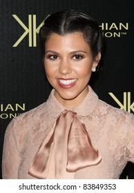 17 August 2011 - Hollywood, California - Kourtney Kardashian. Kardashian Kollection Launch Party Held at The Colony. Photo Credit: Kevan Brooks/AdMedia