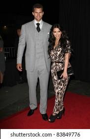 17 August 2011 - Hollywood, California - Kris Humphries and Kim Kardashian. Kardashian Kollection Launch Party Held at The Colony. Photo Credit: Kevan Brooks/AdMedia
