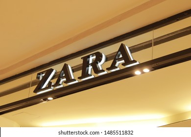 17 August 2019, Medan City, Indonesia- Zara is a brand originating from Spain and based in Arteixo, Gallicia. Zara was founded in 1975 by Armancio Ortega and Rosallia Mera