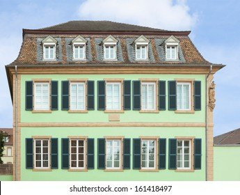 1700s building in the city of Speyer, Germany, facade