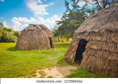 1700s Ganatastwi Settlement - Frontier Culture Museum, VA