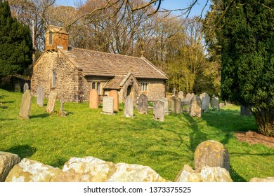 17.04.19 Chapel-le-dale – Church, Ingleton, North Yorkshire, UK St. Leonard's church sits in a small woodland area in the hamlet of Chapel-le-Dale, It is a grade II listed building.