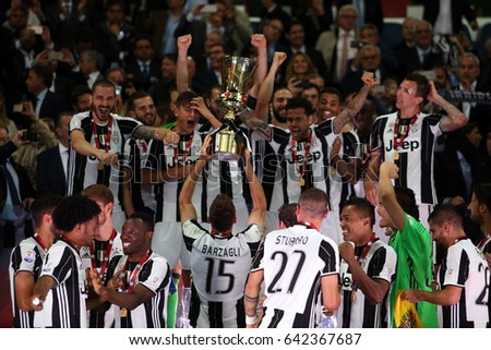 73ad167e3 17052017 Rome Italy TIM CUP FINAL Stock Photo (Edit Now) 642367687 ...