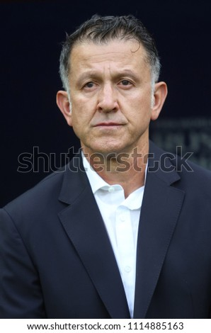 3a5cda3ce4cb10 17062018 Moscow Russian Juas Carlos Osorio Stock Photo (Edit Now ...