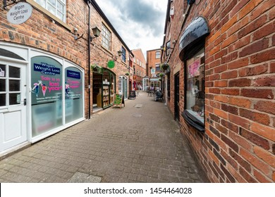 17.07.2019 Wigan, Greater Manchester, UK,  Wigan town centre and shopping centre