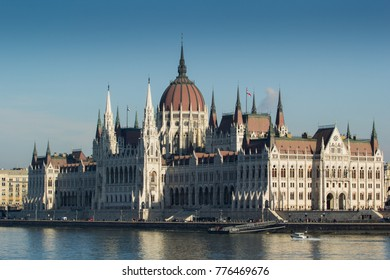 17.12.2017 Hungary, BudapestParliament building of Hungary17.12.2017 Hungary, Budapest