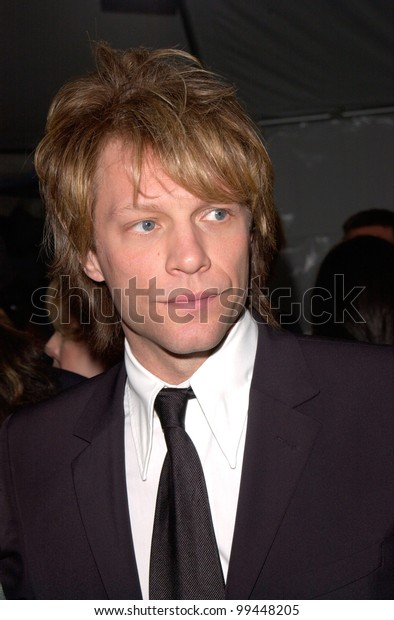17apr2000 Rock Staractor Jon Bon Jovi Stock Photo (Edit Now) 99448205