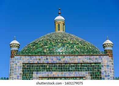 17th century Abakh Khoja Tomb or Xiangfei in Kashgar, Xinjiang, China