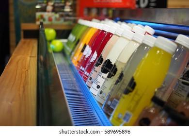 18 Feb 2017, LA Juiceria shop at Mid Valley megamall, Kuala Lumpur, Malaysia.