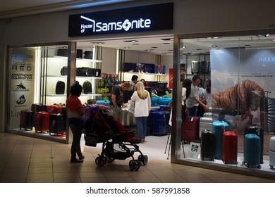 18 Feb 2017 Samsonite shop at Mid Valley megamall, Kuala Lumpur, Malaysia.