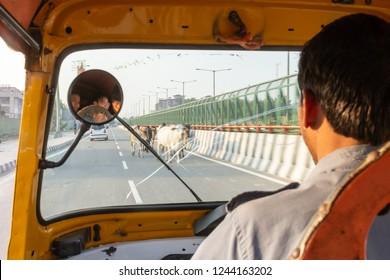 Auto Rickshaw India Images, Stock Photos & Vectors