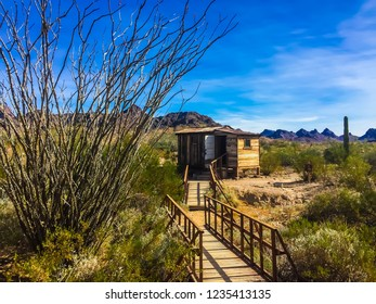 1800s Cabin at Ghost Town, Castle Dome