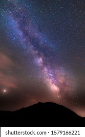 18/07-18, La Sagra, Spain. The Milky way seen from. the observatory of la Sagra.