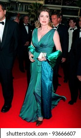 18MAY97:  CATHERINE DENEUVE at the 1997 Cannes Film Festival.