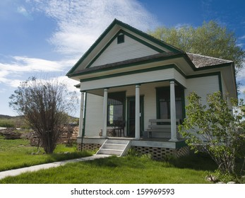 18th century farm house. Museum of the Mountain West in Montrose, Colorado.