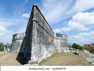 The 18th century Fort Charlotte in Nassau city on New Providence Island (Bahamas).